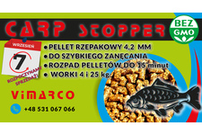 Pellet rzepakowy 4,2 mm Carp Stopper 25kg